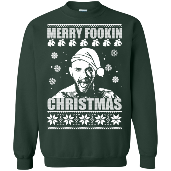 Connor Mc Gregor – Merry Fookin Christmas Sweater
