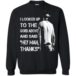 The Tragically Hip – I looked Up To The Gord Above And Said Hey Man, Thanks T-shirt