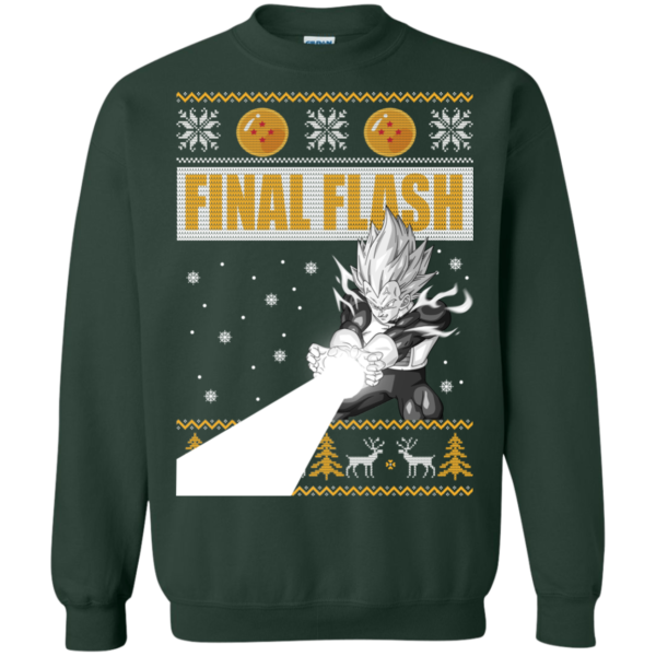 Vegeta Final Flash Christmas Sweater