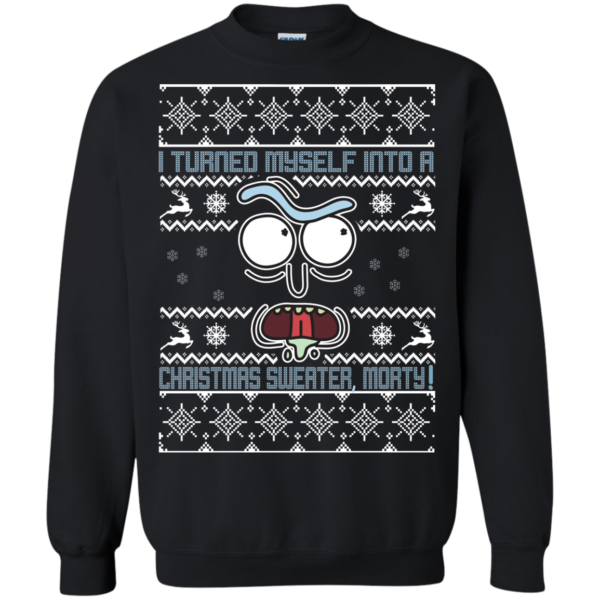Rick And Morty – I Turned Myself Into A Xmas Sweater Morty Christmas Sweater