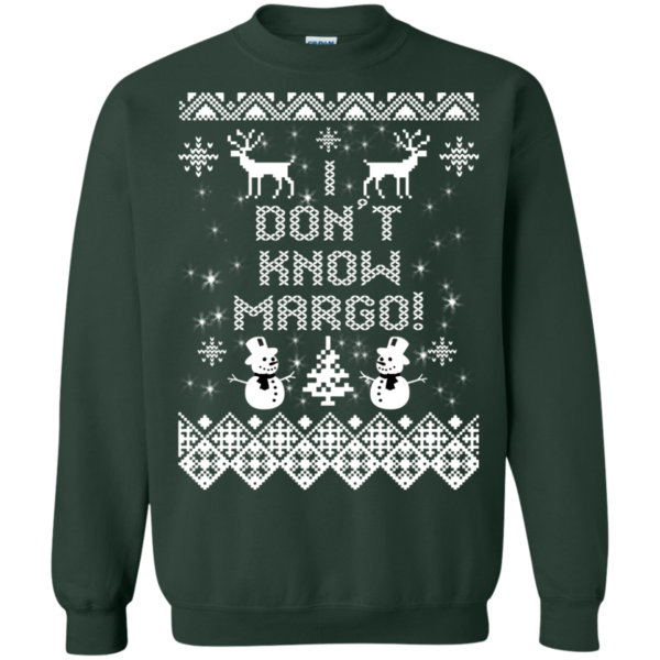 I Don't Know Margo Christmas Sweater
