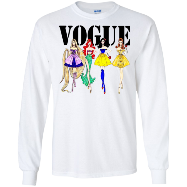 Disney Princess – Vogue Shirt, Hoodie, Tank