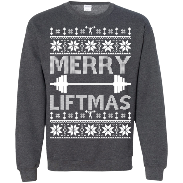 Merry Liftmas Christmas Sweater