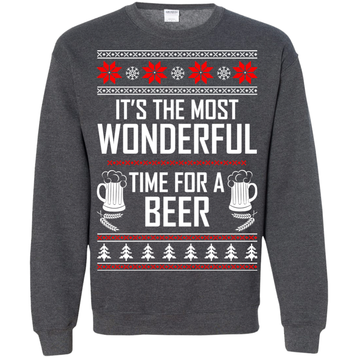 Beer Christmas Sweater.It S The Most Wonderful Time For A Beer Christmas Sweater