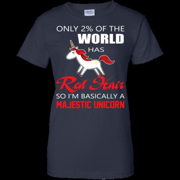 Red Hair – I'm Basically A Majestic Unicorn Shirt, Hoodie, Tank