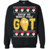 Rick And Morty – Show Me What You Got Christmas Sweater