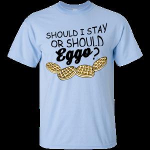 Stranger Things – Should I Stay Or Should Eggo Shirt, Hoodie