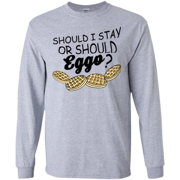 Stranger Things – Should I Stay Or Should Eggo Shirt, Hoodie
