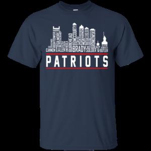 NewEngland Skyline – Patriots Shirt, Hoodie, Tank