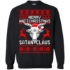 Merry Antichristmas Satan Claus Christmas Sweater