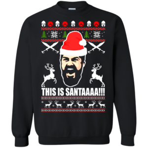 300 Rise of an empire – This Is Santaaa Christmas Sweater