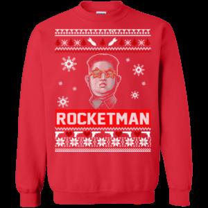 Kim Jong Un Rocket Man Christmas Sweater