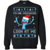 Rick And Morty – I'm Mr. Meeseeks Look At Me Christmas Sweater