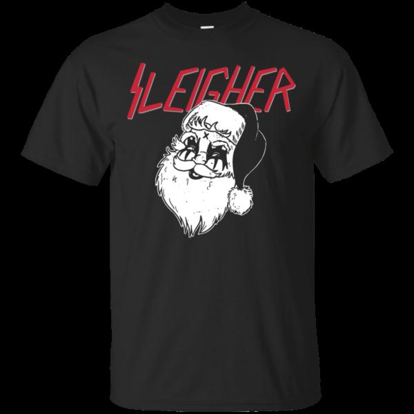 Santa Sleigher Christmas Shirt, Hoodie, Tank