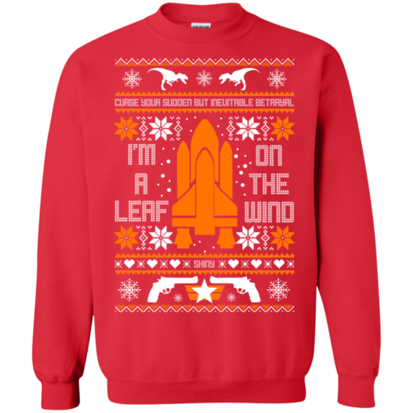 I'm A Leaf On The Wind Christmas Sweater