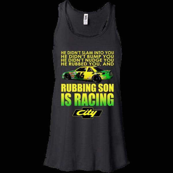Rubbing Son Is Racing Shirt, Hoodie, Tank