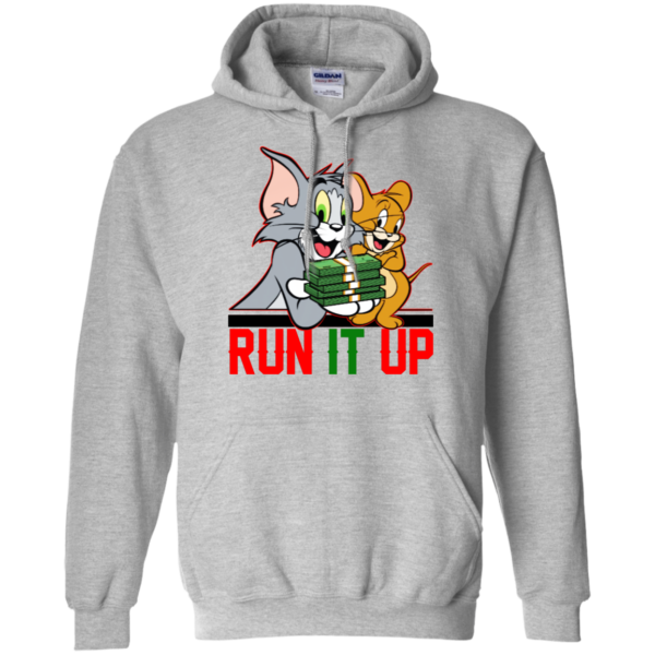 Tom And Jerry Run It up Shirt, Hoodie, Tank
