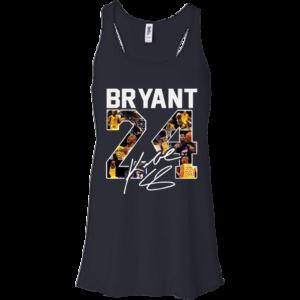 Kobe Bryant 24 Signature Shirt, Hoodie, Tank