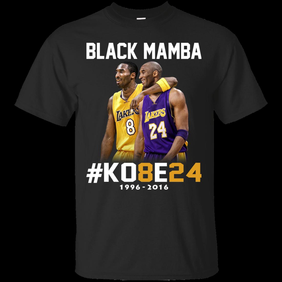 Kobe Bryant 24 Black Mamba Shirt, Hoodie, Tank | Allbluetees.com