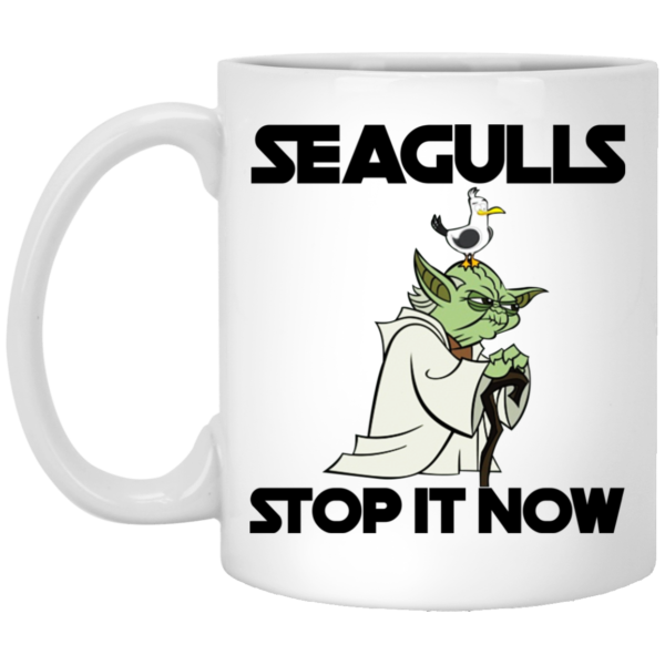 Seagulls Stop It Now Mugs