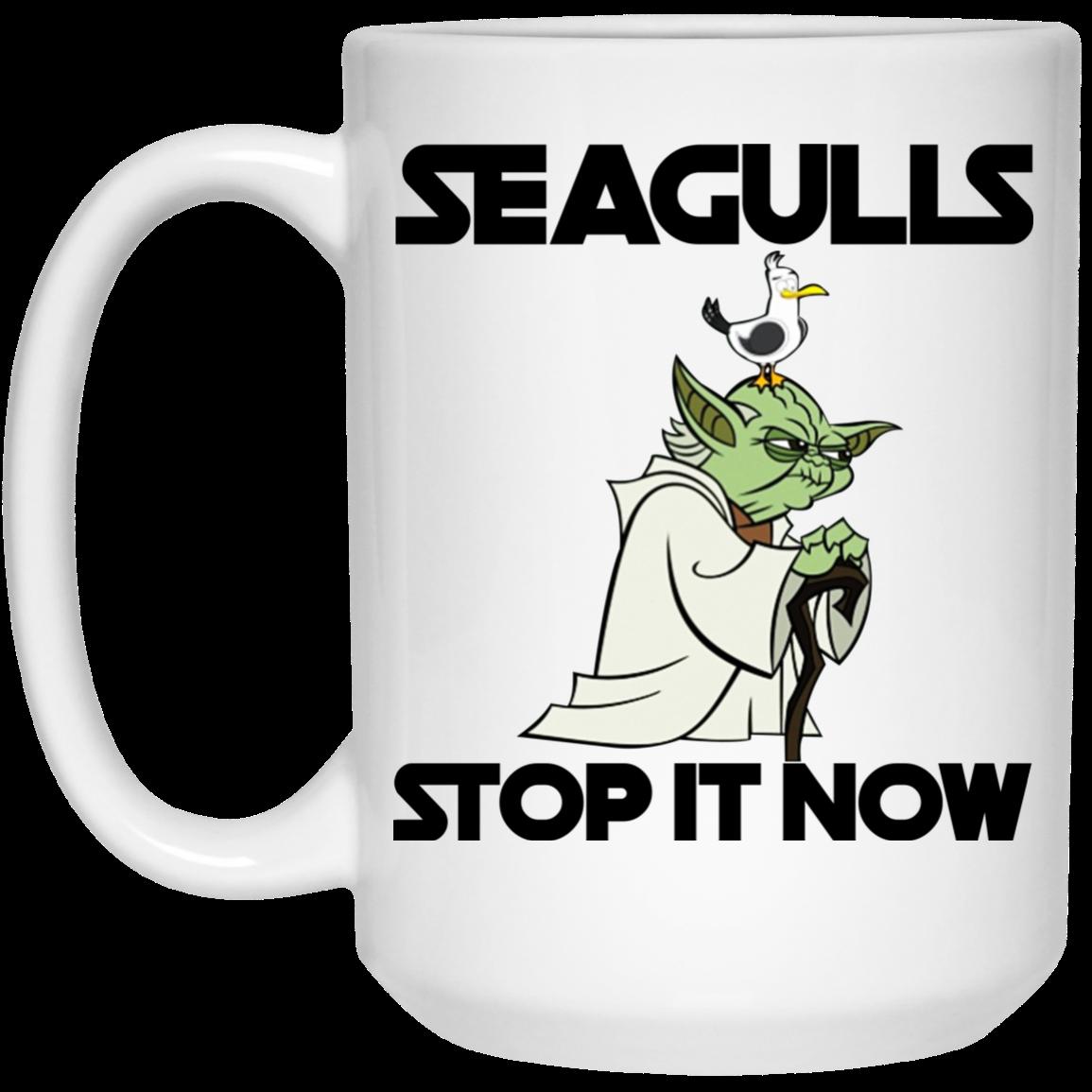Star Wars: Seagulls Stop It Now Mugs