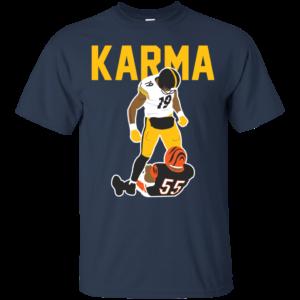 Steelers Karma JuJu Smith-Schuster Vontaze Burfict T-shirt