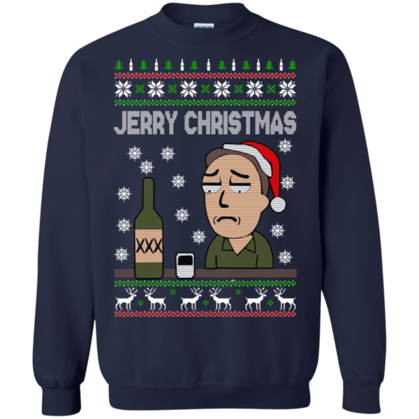 Rick And Morty – Jerry Christmas Sweater