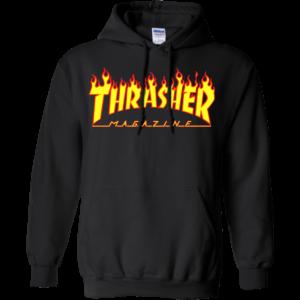 Thrasher Magazine Flame Logo Shirt, Hoodie, Tank
