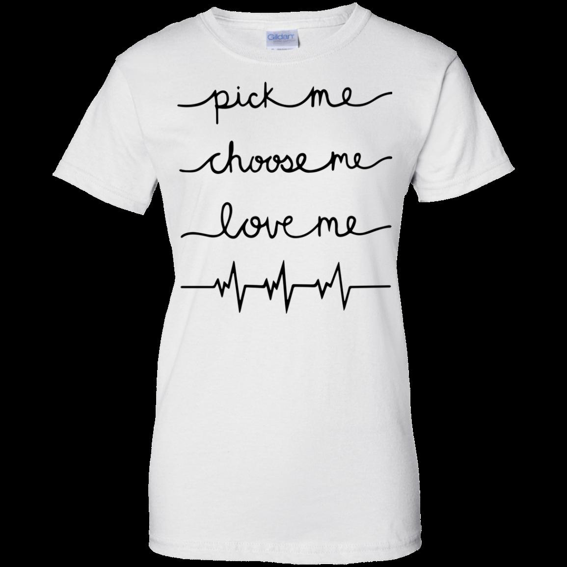 Grey\'s Anatomy - Pick me - Choose me - Love me Shirt, Hoodie, Tank