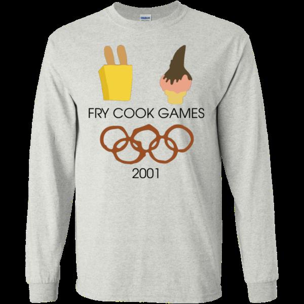 Fry Cook Games 2001 Shirt, Hoodie, Tank