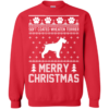 Soft Coated Wheaten Terrier Merry Christmas Sweater