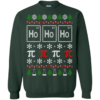 Scientific Christmas Ugly Sweater