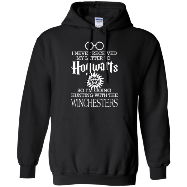 Winchesters – I Never Received My Letter To Hogwarts Shirt, Hoodie