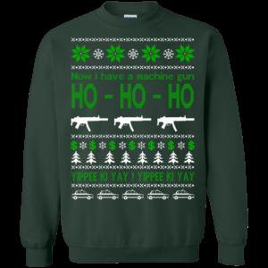 Now I Have A Machine Gun – Yippee Ki Yay Christmas Sweater
