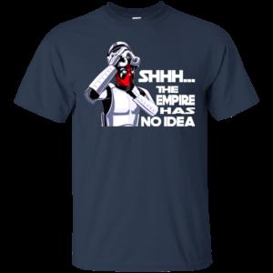 Deadpool – The Last Jedi – The Empire Has No Idea Shirt, Hoodie