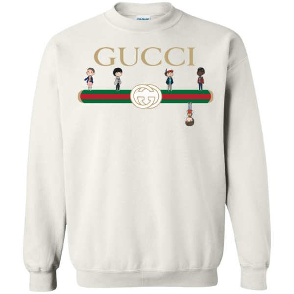 Stranger Things Upside Down Gucci Shirt, Sweatshirt