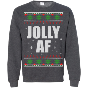 Jolly AF Christmas Sweater