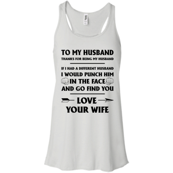 To My Husband – Thank For Being My Husband Shirt, Hoodie