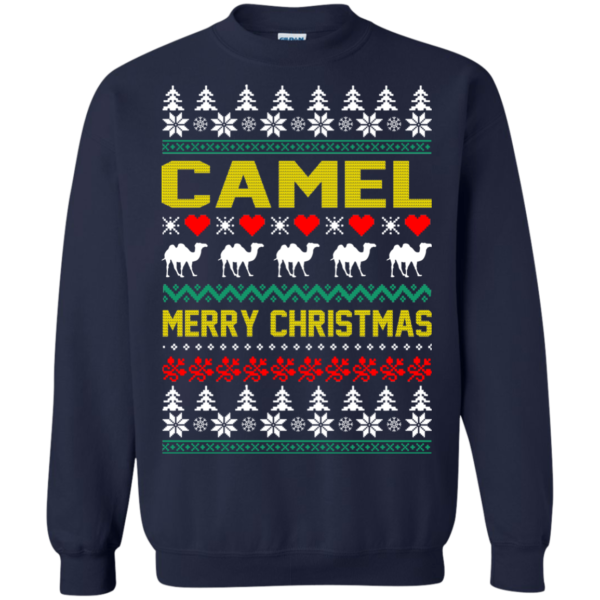 Camel – Merry Christmas Sweater