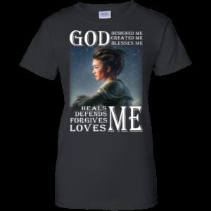 God Designed Me, Created Me, Blesses Me Shirt, Hoodie, Tank
