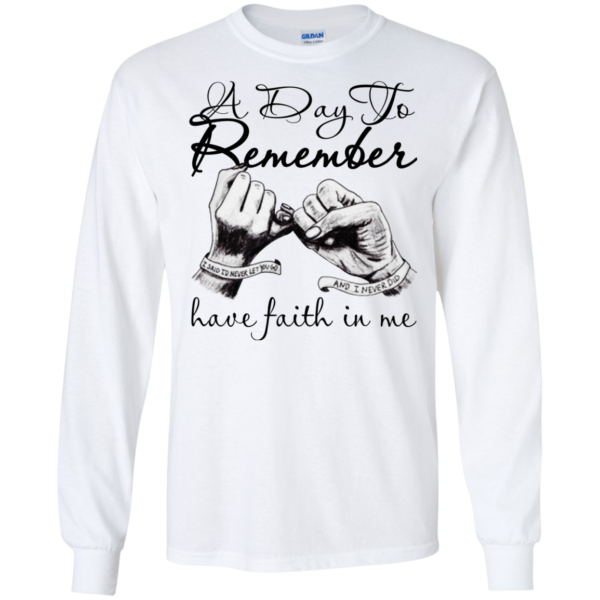 A Day To Remember – Have Faith In Me Shirt, Hoodie, Tank