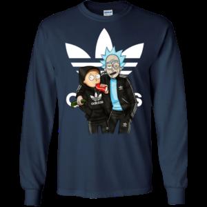 Rick And Morty Adidas Shirt, Hoodie, Tank