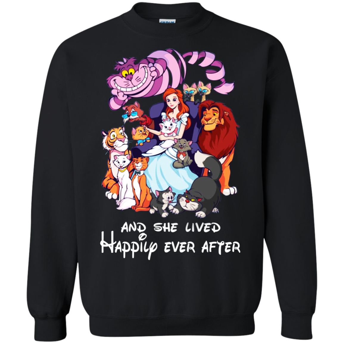 Disney And She Lived Happily Ever After T Shirt