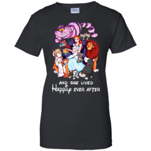 Disney – And She Lived Happily Ever After T-Shirt