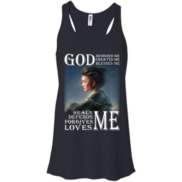 God Designed Me, Created Me, Blesses Me Shirt, Hoodie, Tank