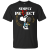 Snoopy – Roger Federer – Simply Perfect Shirt, Hoodie, Tank