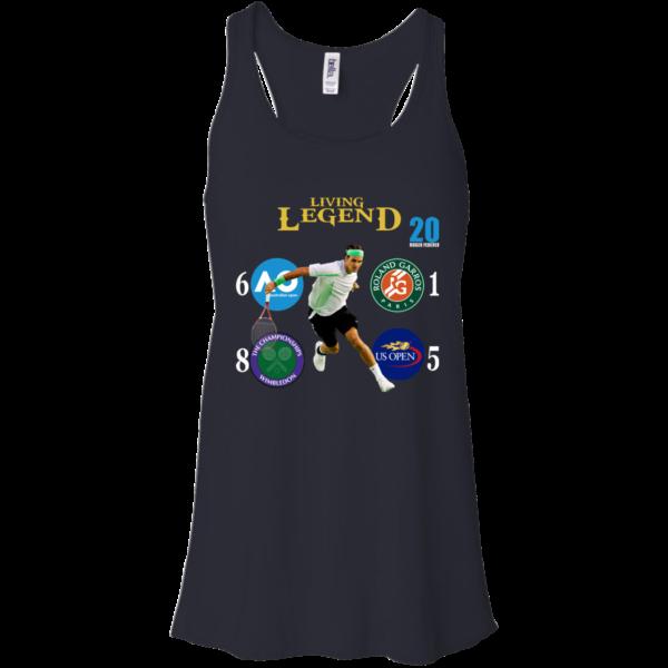 Roger Federer 20 – Living Legend Shirt, Hoodie, Tank