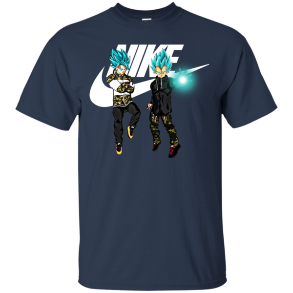Goku And Vegeta Nike Shirt, Hoodie, Tank