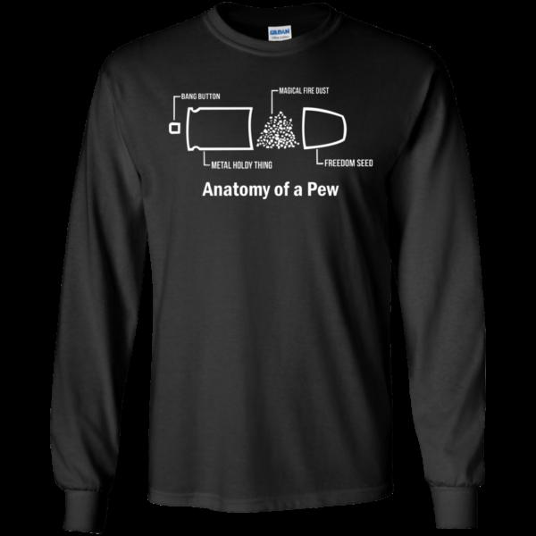 Anatomy Of A Pew Shirt, Hoodie, Tank