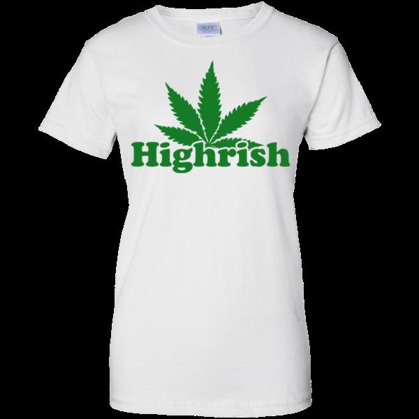 Cannabis Irish – Highrish Shirt, Hoodie, Tank